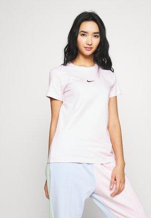T-shirt print - pink foam