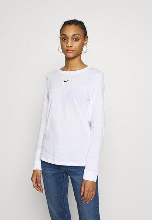 TEE - T-shirt à manches longues - white/black