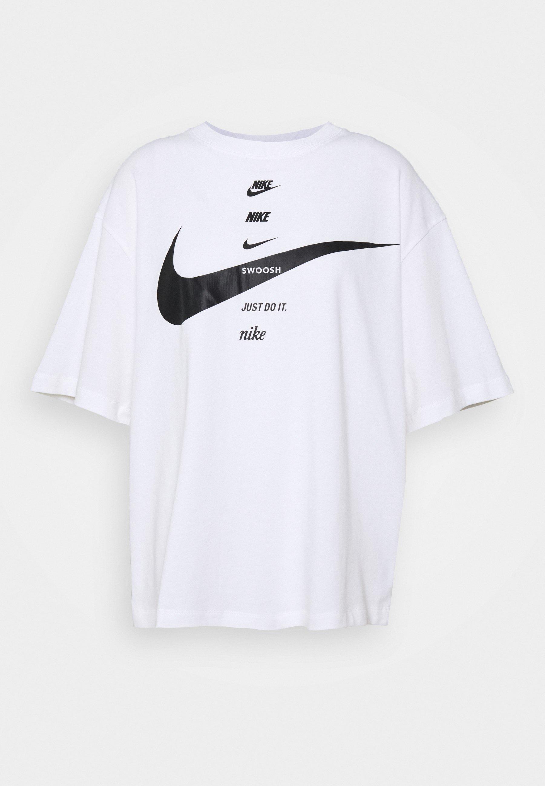 Nike Sportswear TEE NOVEL T shirt imprimé white ZALANDO.FR