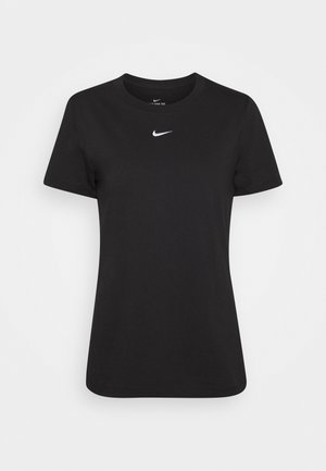 TEE CREW - T-shirt z nadrukiem - black