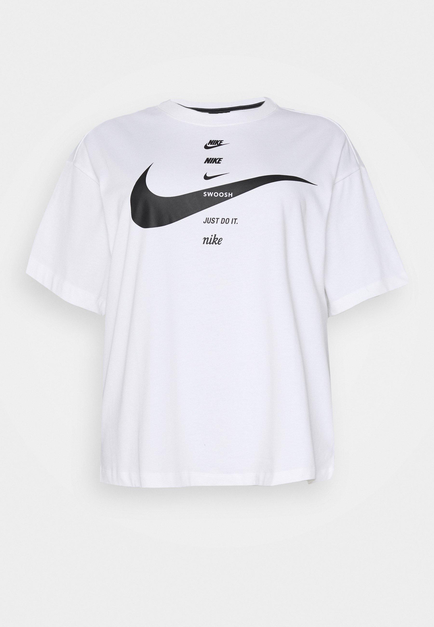 T shirt imprimé whiteblack