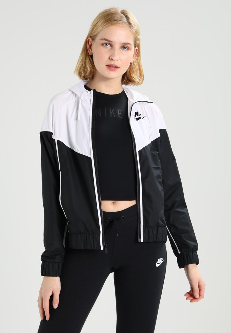 Nike Sportswear - Summer jacket - black/white/black
