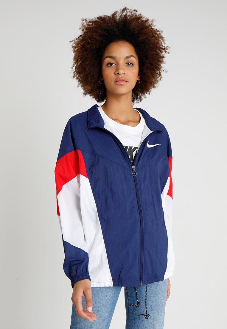 Nike Sportswear - Träningsjacka - blue void/university red/white