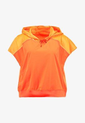 Veste imperméable - total orange/black