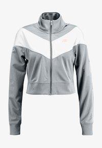 Nike Sportswear - W NSW HRTG TRCK JKT PK - Giacca sportiva - cool grey/white/echo pink - 3