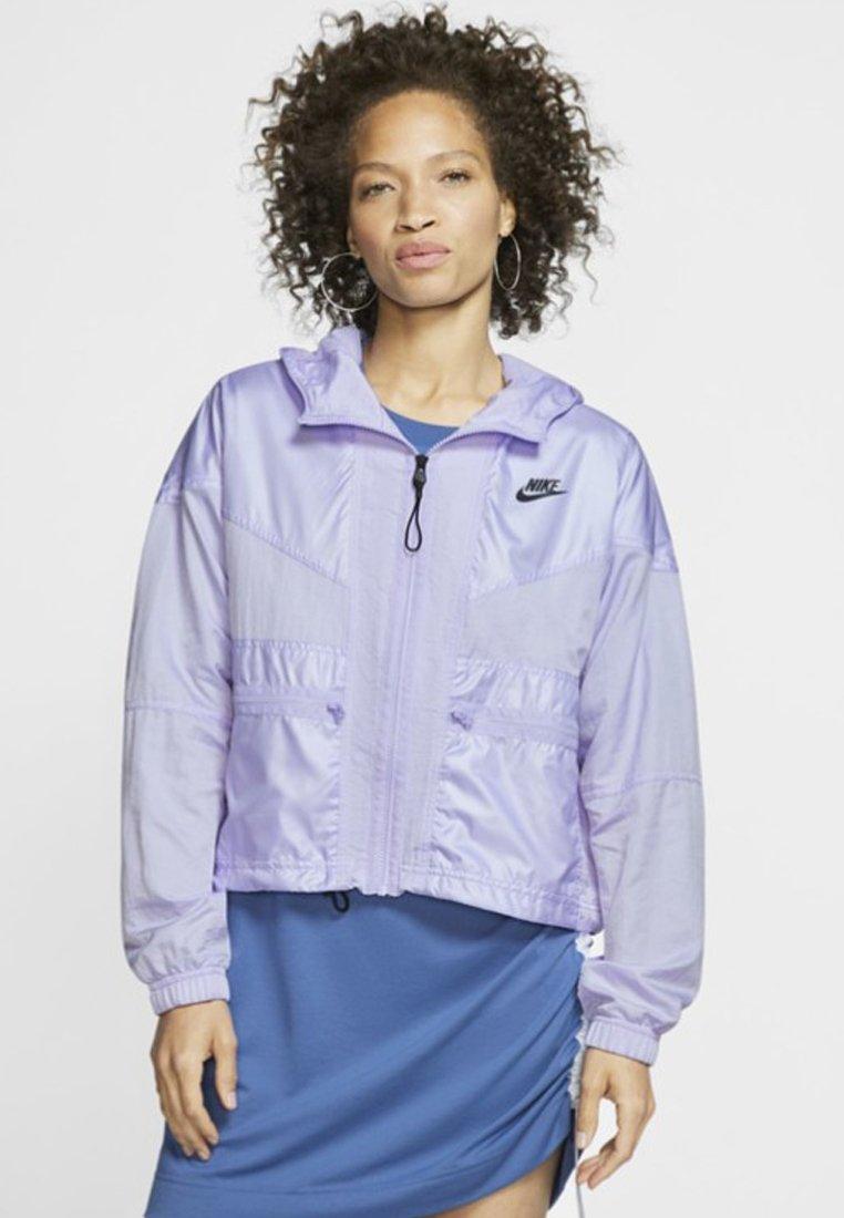 Nike Sportswear - Summer jacket - lavender mist/black