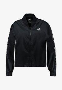 Nike Sportswear - AIR TRK PLUS - Bomber bunda - black - 4