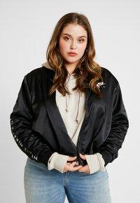 Nike Sportswear - AIR TRK PLUS - Bomber bunda - black - 0