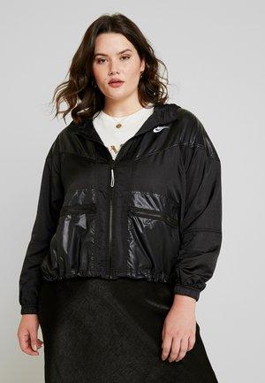 CARGO REBEL PLUS - Sportovní bunda - black/white