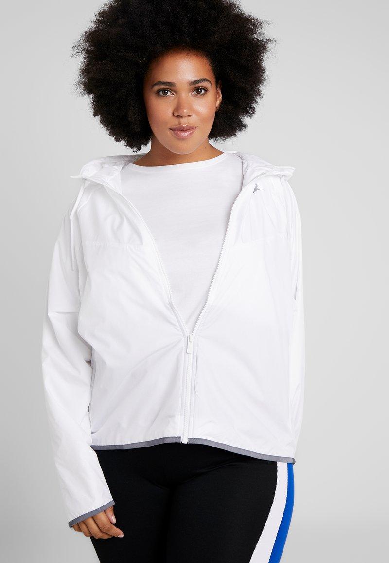 Nike Sportswear - FEM PLUS - Giacca a vento - white/cool grey