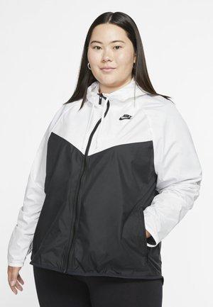 FEM PLUS - Summer jacket - white/black