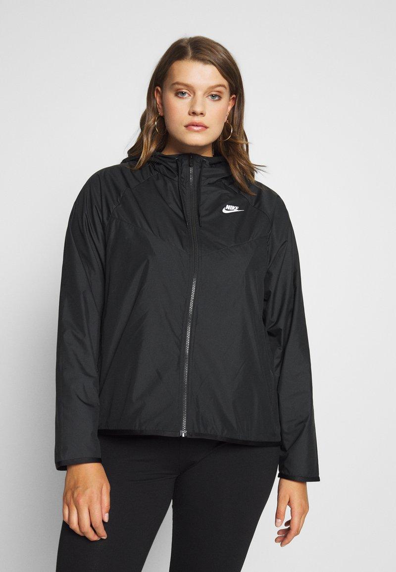 Nike Sportswear - FEM PLUS - Lett jakke - black