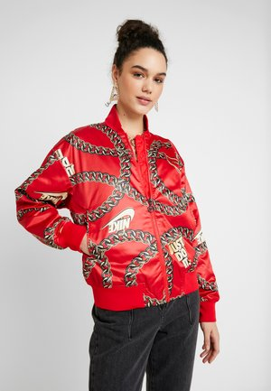 Blouson Bomber - university red
