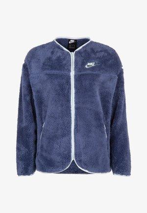 PLUSH - Fleece jacket - blue