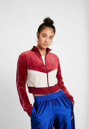 PLUSH - Training jacket - team red/desert sand/university blue