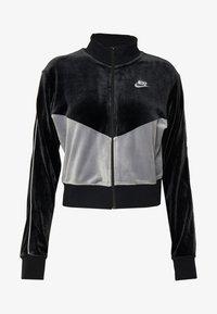 Nike Sportswear - PLUSH - Training jacket - black/cool grey/white - 4