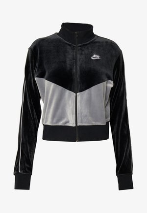 PLUSH - Träningsjacka - black/cool grey/white