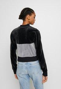 Nike Sportswear - PLUSH - Training jacket - black/cool grey/white - 2
