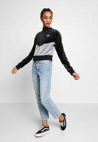 Nike Sportswear - PLUSH - Training jacket - black/cool grey/white - 1
