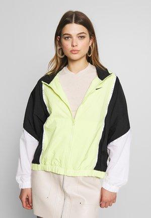 PIPING - Summer jacket - limelight/black/white/black