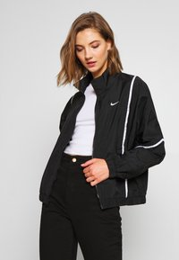 Nike Sportswear - PIPING - Lett jakke - black/white - 0
