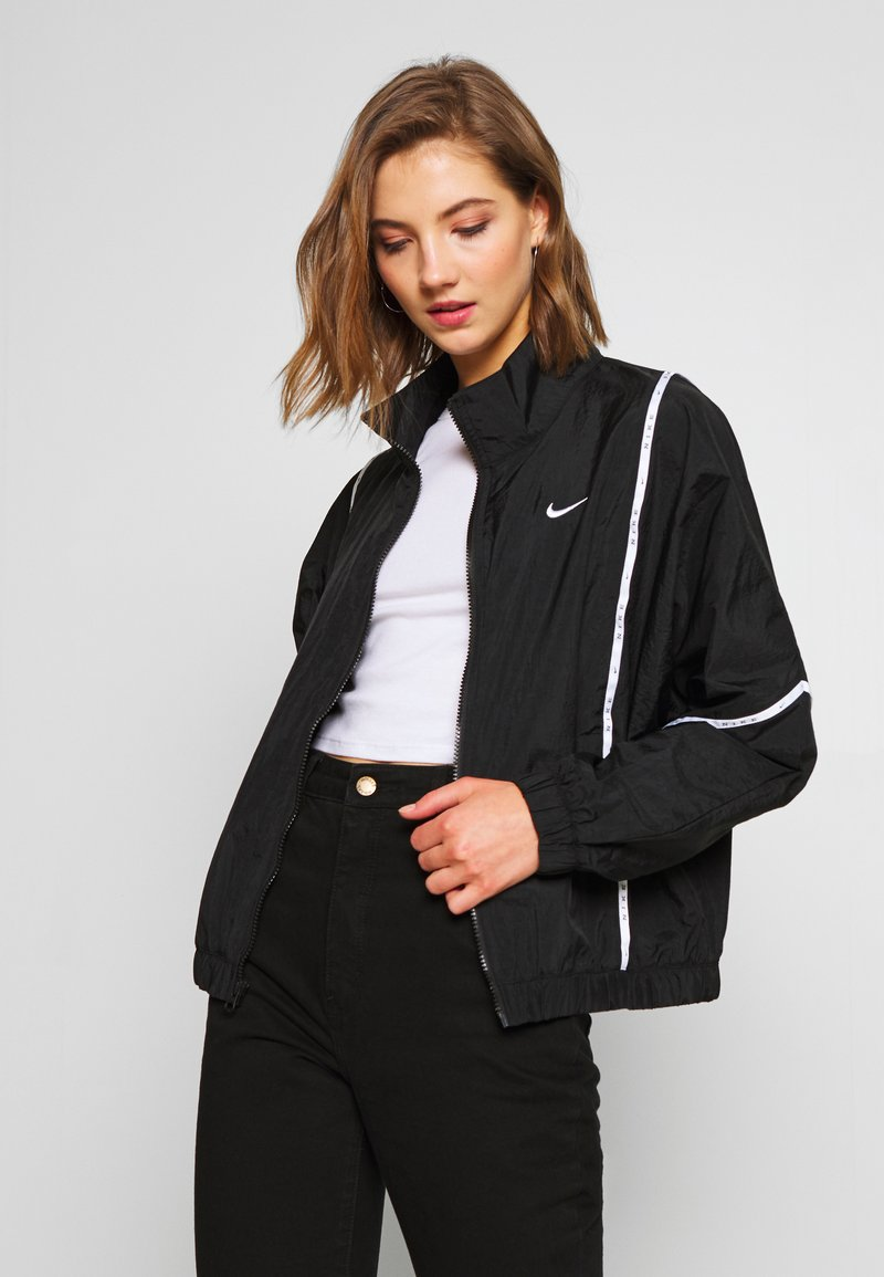 Nike Sportswear - PIPING - Lett jakke - black/white