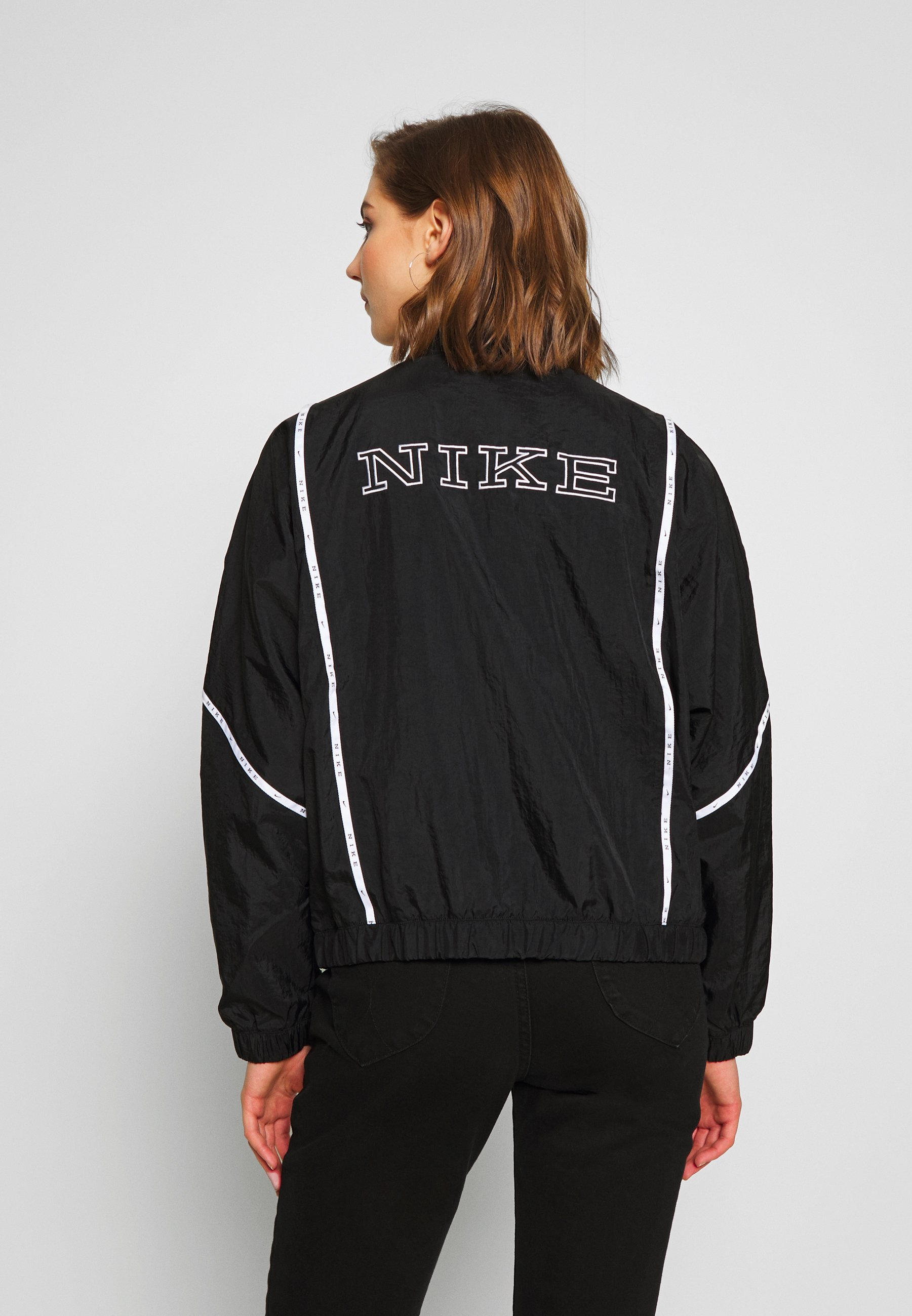 Nike Sportswear Piping - Leichte Jacke Black/white