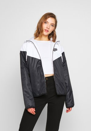 Light jacket - white/black