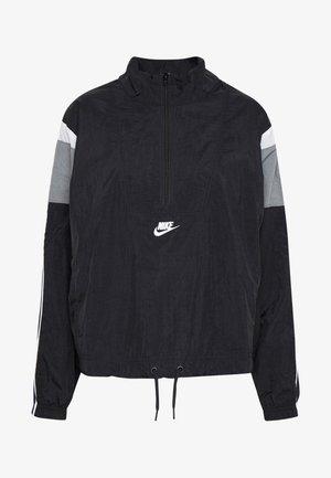 Lehká bunda - black/smoke grey/white/(white)