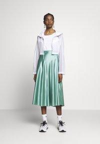 Nike Sportswear - UP IN AIR - Summer jacket - white/smoke grey - 1