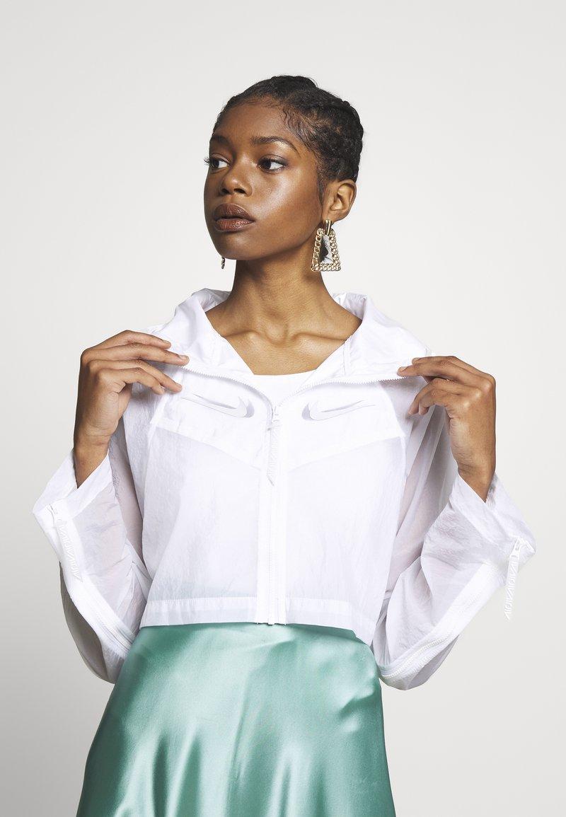 Nike Sportswear - UP IN AIR - Summer jacket - white/smoke grey