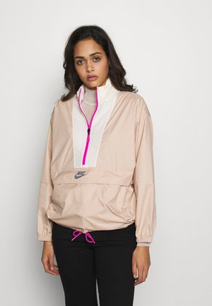 Veste coupe-vent - shimmer/pale ivory/fire pink