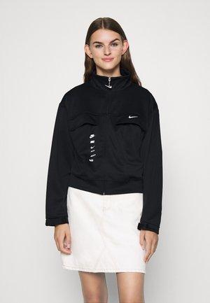 Lehká bunda - black/white