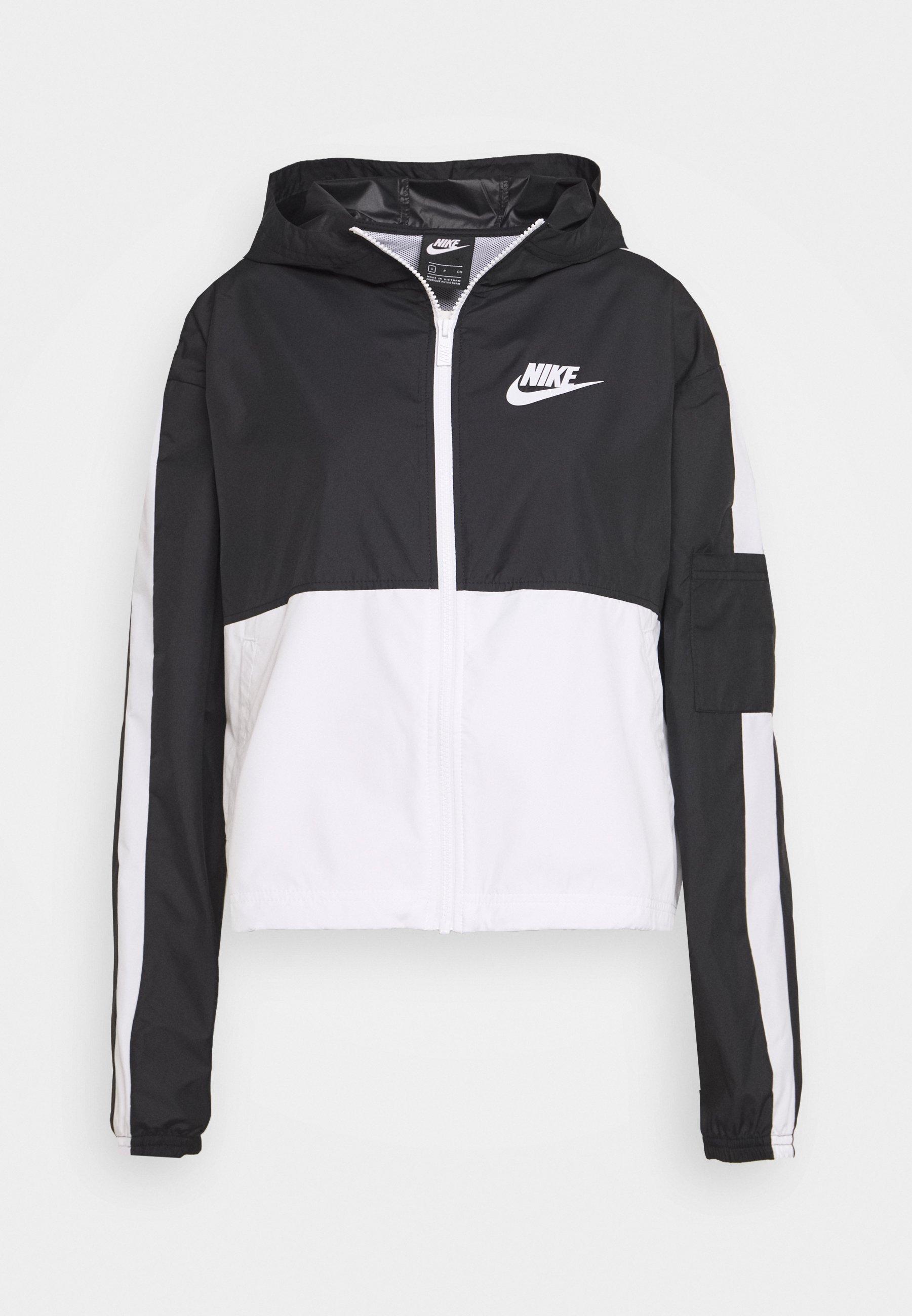 Nike Performance AIR Löparjacka blackwhite Zalando.se