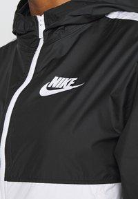 Nike Sportswear - Treningsjakke - black/white - 4