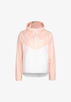 Blouson - white / washed coral