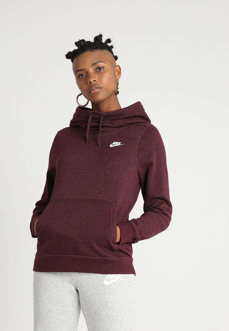 Nike Sportswear - Luvtröja - burgundy crush/white