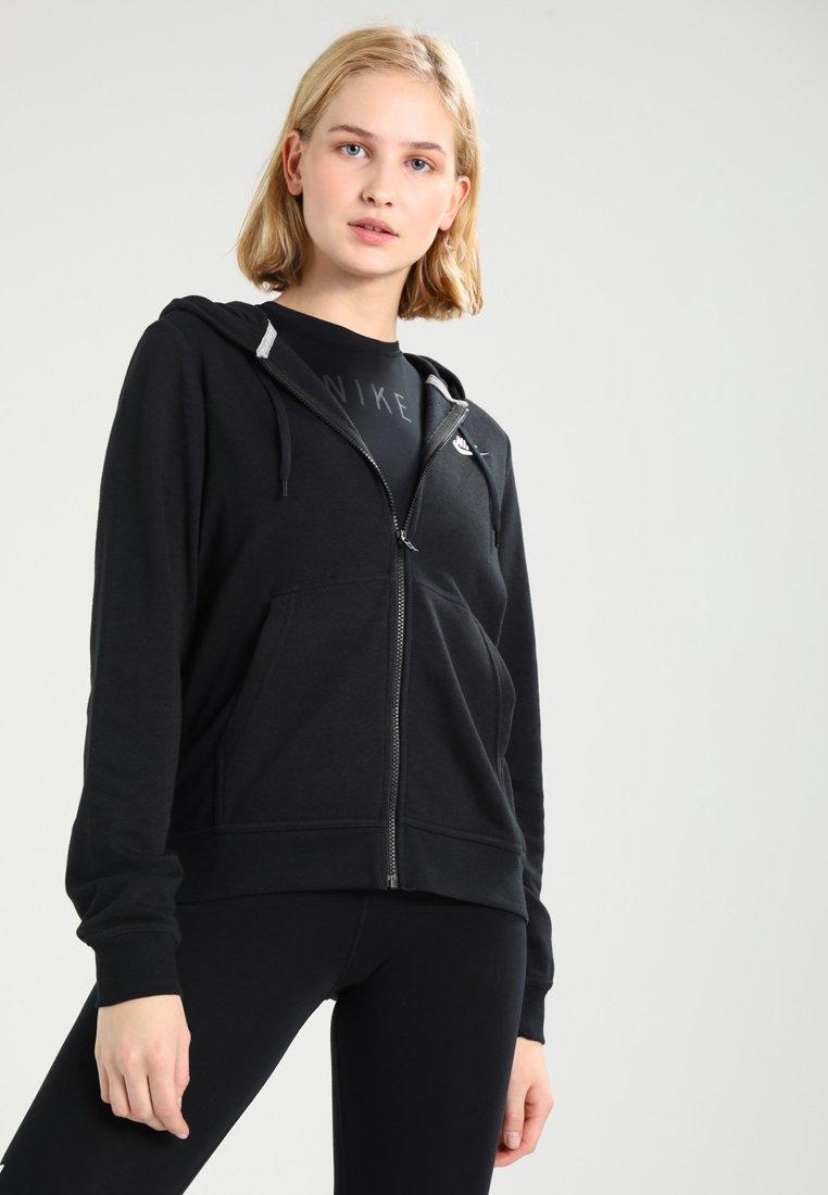 Nike Sportswear - W NSW FZ FLC - Sweatjacke - black