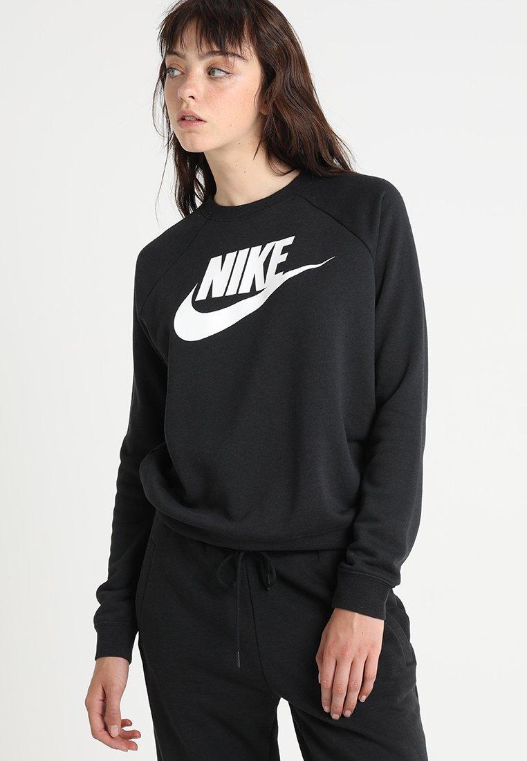 Nike Sportswear - RALLY CREW  - Collegepaita - black/white
