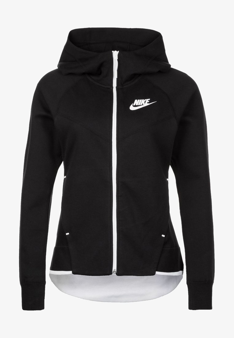 Nike Sportswear - WINDRUNNER - Fleecejacke - black/white