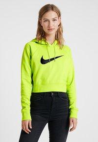 Nike Sportswear - Kapuzenpullover - cyber/black - 0