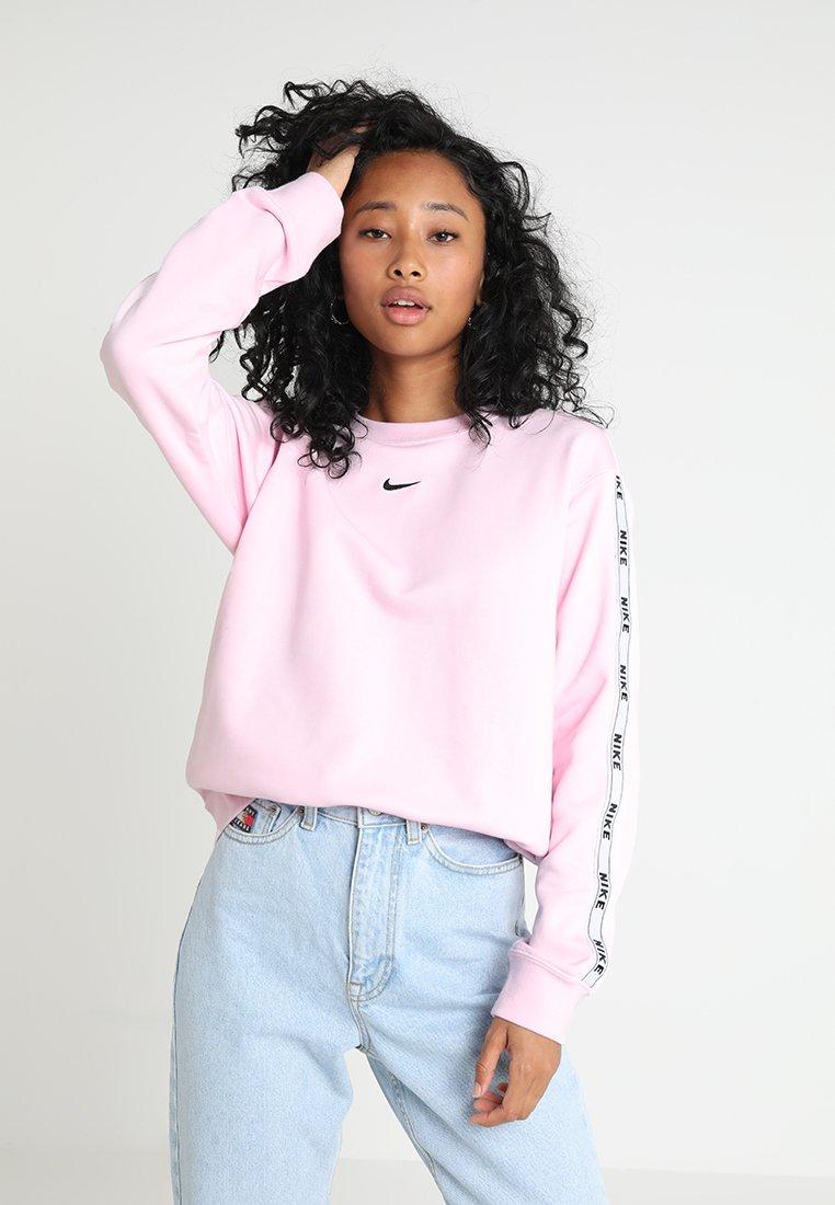 Nike Sportswear - CREW LOGO TAPE - Sweatshirt - pink