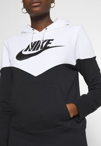 Nike Sportswear - HOODIE - Hoodie - black/white - 5