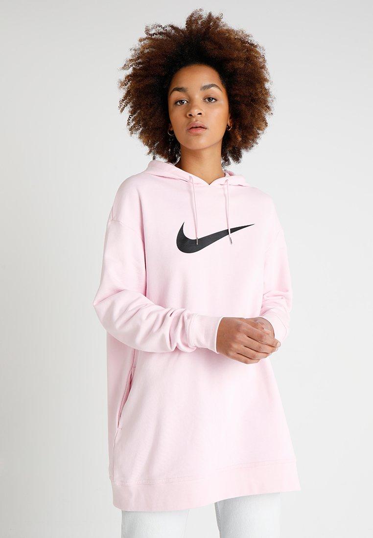 Nike Sportswear - Hættetrøjer - pink foam/black