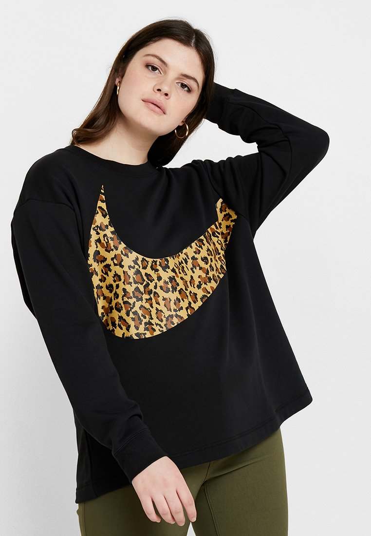 Nike Sportswear - CREW PLUS - Sweatshirt - black