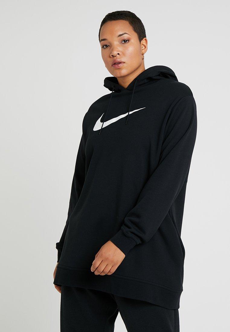 Nike Sportswear - HOODIE PLUS - Hoodie - black/white