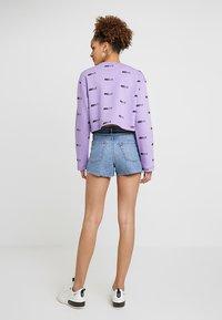 Nike Sportswear - NSW AIR CREW - Mikina - space purple/white - 2