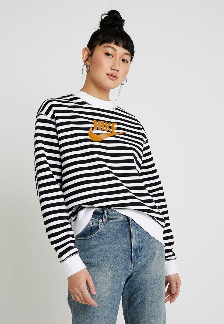 Nike Sportswear - CREW - Sweatshirt - white/black