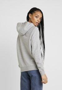 Nike Sportswear - Hoodie - dark grey heather/white - 3