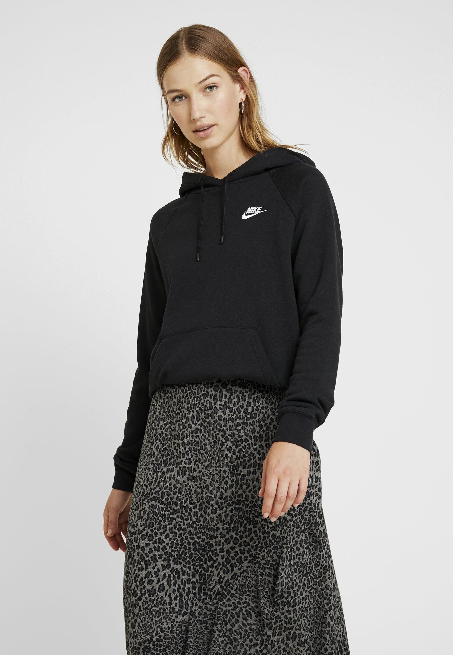 Nike Sportswear Bluza z kapturem - black